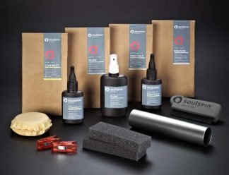 Table tennis accessories complete set contains all products you need for the care of table tennis blades and rubbers.